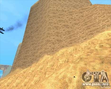 Desert HQ para GTA San Andreas quinta pantalla