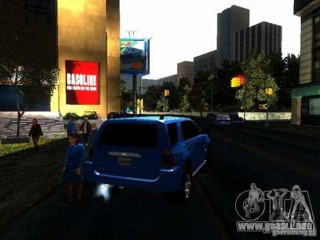 Toyota 4Runner 2009 para visión interna GTA San Andreas