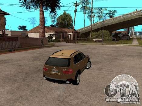 BMW X5 E70 para GTA San Andreas left