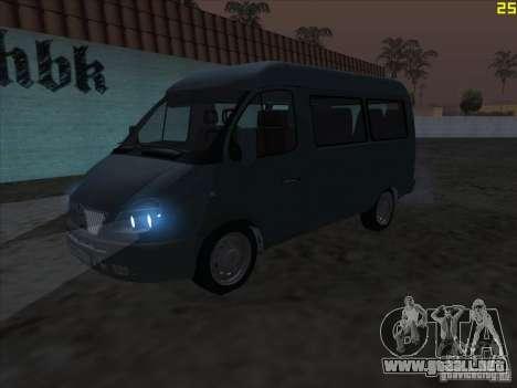 22172 GAS sable para GTA San Andreas