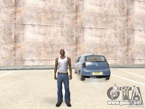 Volkswagen Fox 2011 para la visión correcta GTA San Andreas