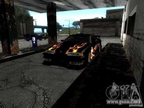 Rèjzora de vinilo de Most Wanted para visión interna GTA San Andreas