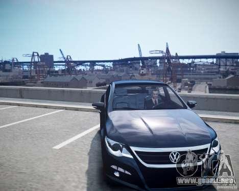 Volkswagen Passat CC para GTA 4 visión correcta
