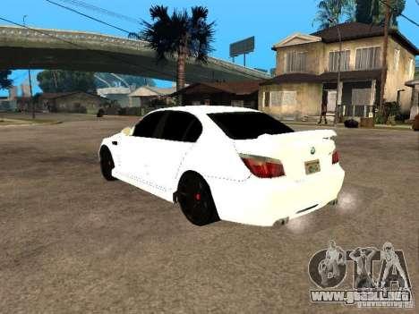 Bmw M5 Ls Ninja Stiil para GTA San Andreas left
