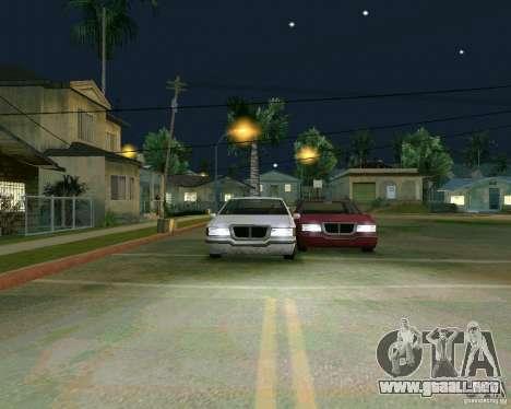Elegant Limo para visión interna GTA San Andreas