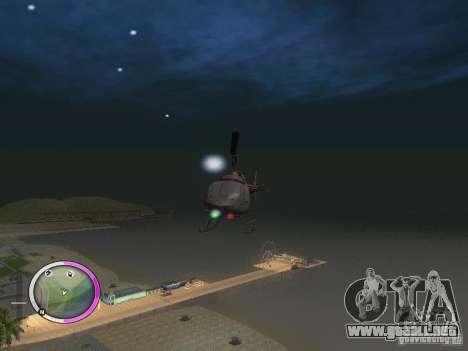 NEW GTA IV HUD 2 para GTA San Andreas tercera pantalla