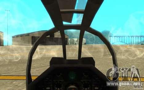 Cobra para visión interna GTA San Andreas