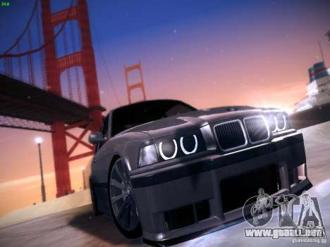 BMW M3 E36 320i Tunable para GTA San Andreas left