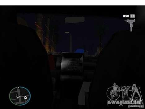 Taxi mod para GTA San Andreas tercera pantalla