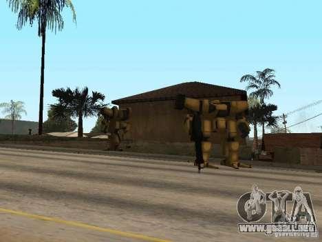 Transformadores para GTA San Andreas segunda pantalla