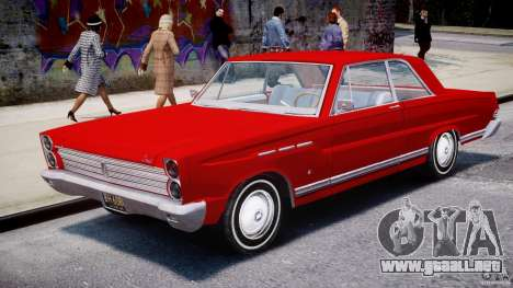 Ford Mercury Comet 1965 [Final] para GTA 4 vista interior