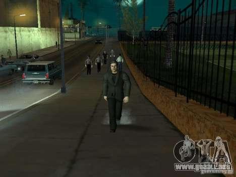 Black Stallion Peds para GTA San Andreas sexta pantalla
