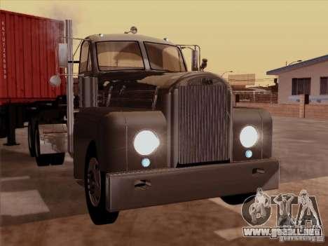 Mack B 61 para GTA San Andreas left