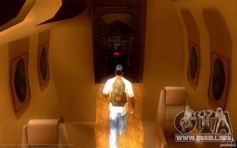 Zatyazhnoj pryzhok 2.0 + largo buceo para GTA San Andreas segunda pantalla