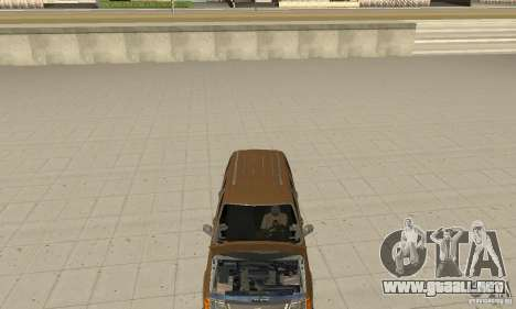 Ford Explorer 2002 para visión interna GTA San Andreas