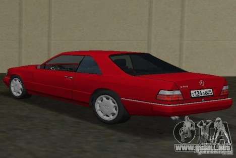 Mercedes-Benz E 320 (C124) para GTA Vice City left