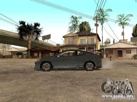Acura RSX Charge para GTA San Andreas left