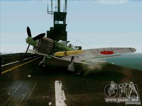 Avión japonés para GTA San Andreas