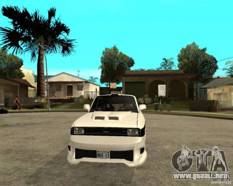 AZLK 2140 Underground para GTA San Andreas