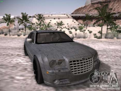 Chrysler 300C SRT8 para vista inferior GTA San Andreas