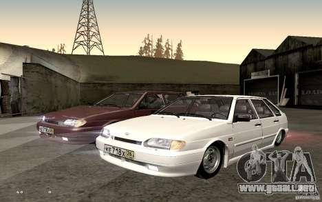ВАЗ 2114 calidad para la visión correcta GTA San Andreas