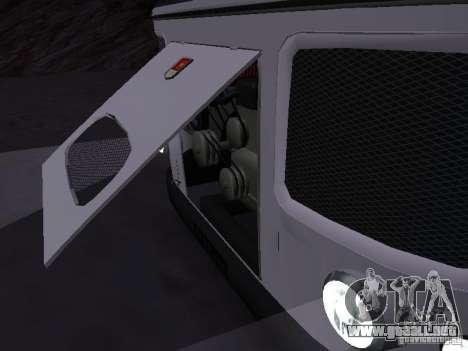 SURCO 672.60 para GTA San Andreas vista posterior izquierda