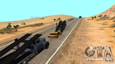 New HQ Roads para GTA San Andreas séptima pantalla