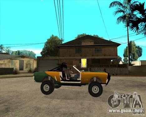 Ford Mustang Sandroadster para la visión correcta GTA San Andreas