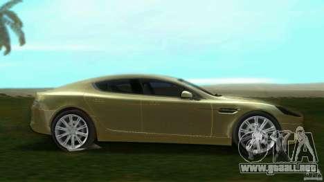Aston Martin Rapide para GTA Vice City left