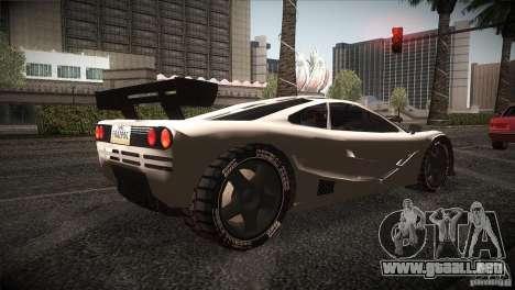 McLaren F1 LM para la visión correcta GTA San Andreas
