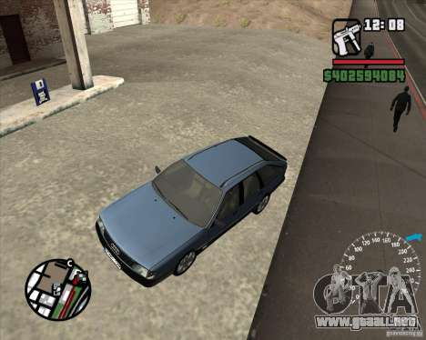 Audi 100 Avant para visión interna GTA San Andreas