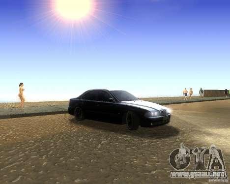 BMW 525i e39 para GTA San Andreas left