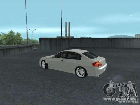 Nissan Skyline 300 GT para GTA San Andreas left
