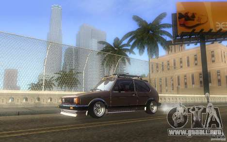 Volkswagen Golf GTI rabbit euro style para GTA San Andreas left