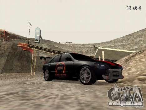 Toyota Altezza NKS Drift para GTA San Andreas vista hacia atrás