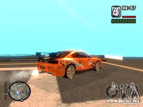 NISSAN Silvia S15 RFteam drifters para GTA San Andreas left