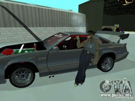 Buffalo Racer 2008 para GTA San Andreas vista posterior izquierda