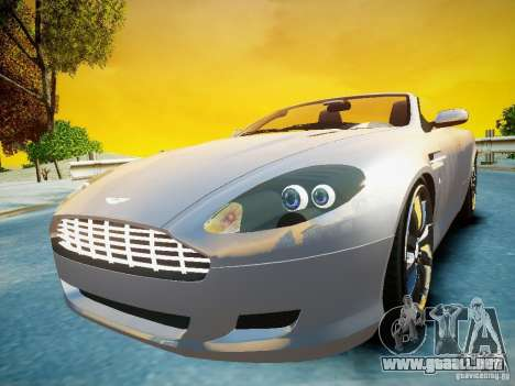 Aston Martin DB9 Volante v2.0 para GTA 4 visión correcta