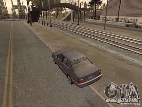 BMW 740 para GTA San Andreas left