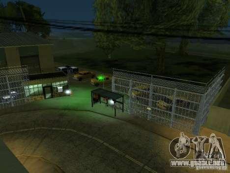 El primer taxi Parque versión 1.0 para GTA San Andreas sexta pantalla