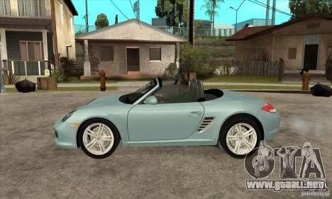 Porsche Boxster S 2010 para GTA San Andreas left