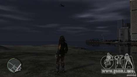 Predator Predator para GTA 4