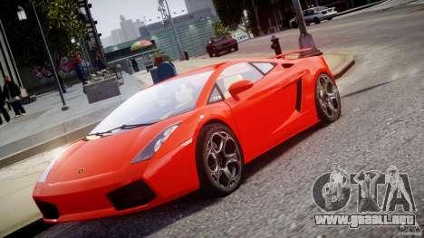 Lamborghini Gallardo Superleggera para GTA 4