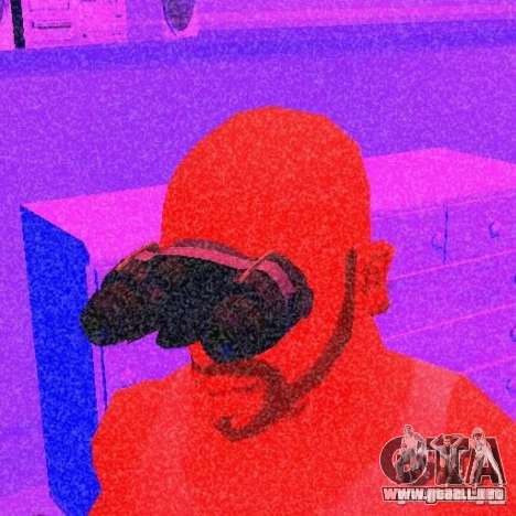 Goggles HD para GTA San Andreas segunda pantalla