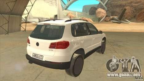Volkswagen Tiguan 2012 v2.0 para la visión correcta GTA San Andreas