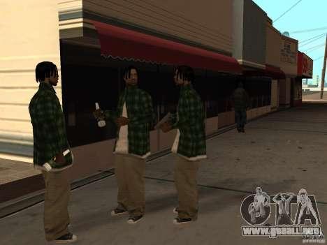 Pak versión doméstica armas 3 para GTA San Andreas octavo de pantalla