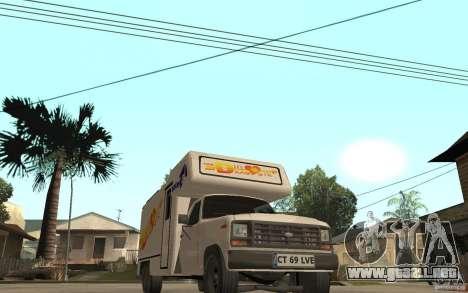 Ford F150 Carvana Dragostei para GTA San Andreas vista hacia atrás