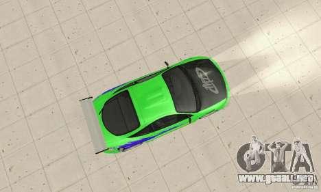 Mitsubishi Eclipse FnF para la visión correcta GTA San Andreas