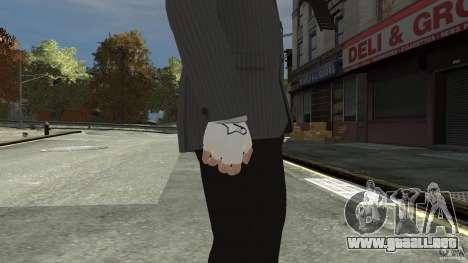 Gloves AlpineStar White para GTA 4 segundos de pantalla