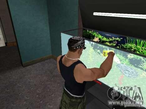 Acuario para GTA San Andreas sexta pantalla